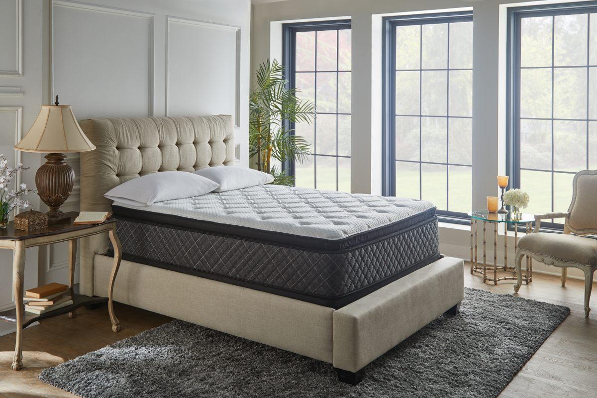 Arctic Crown Mattress Set on a Bed